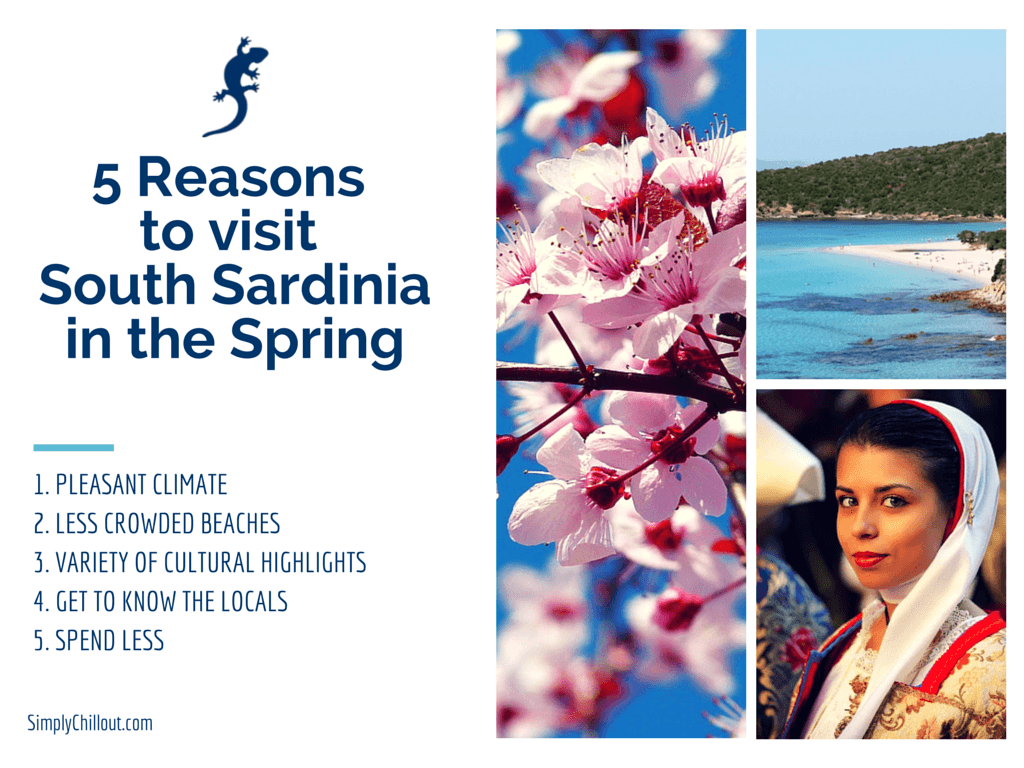 5 GOOD REASONS TO VISIT SOUTH SARDINIA IN THE SPRING