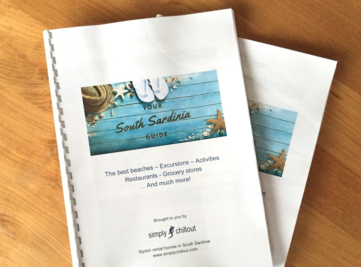 YOUR PERSONAL SOUTH SARDINIA GUIDE